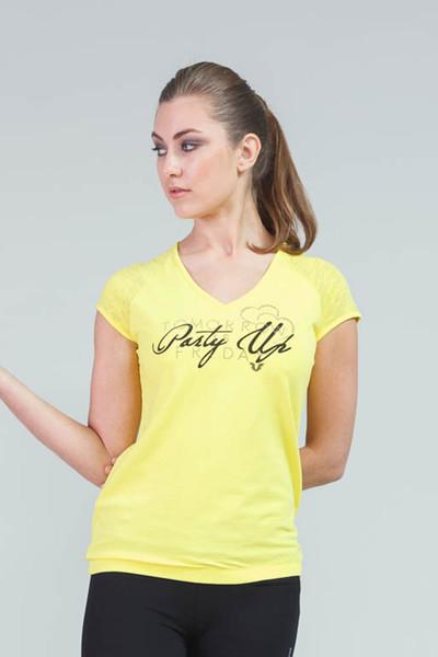 BİLCEE - Bilcee Kadın Antrenman T-Shirt CW-9133
