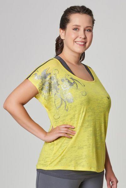 BİLCEE - Bilcee Büyük Beden Kadın T-Shirt CW-9134