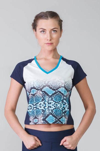 BİLCEE - Bilcee Pamuklu Kadın T-Shirt CW-9140