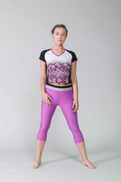 BİLCEE - Bilcee Pamuklu Kadın T-Shirt CW-9140 (1)