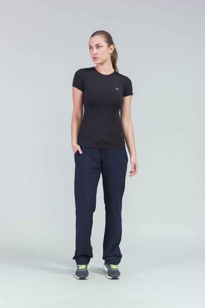 BİLCEE - Bilcee Siyah Kadın AntrenmanT-Shirt CW-9143 (1)