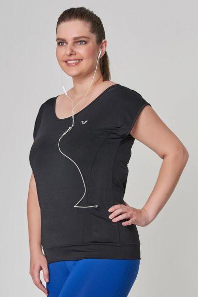 BİLCEE - Bilcee Büyük Beden Kadın Antrenman T-Shirt CW-9145