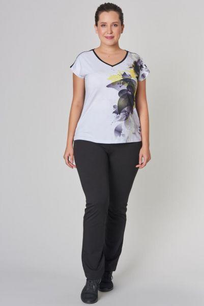 BİLCEE - Bilcee Büyük Beden Kadın T-Shirt CW-9146 (1)