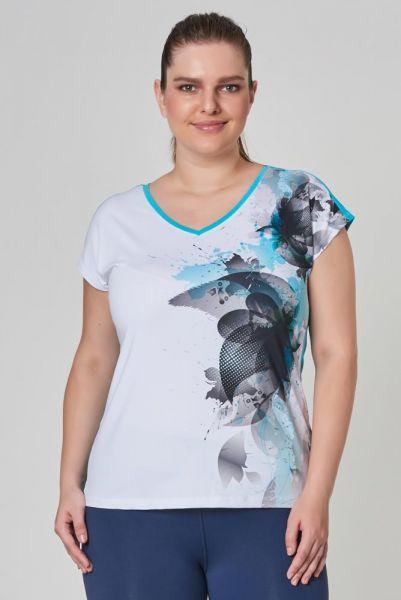 BİLCEE - Bilcee Büyük Beden Kadın T-Shirt CW-9146