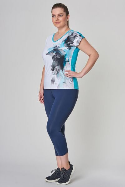 BİLCEE - Bilcee Büyük Beden Kadın Antrenman T-Shirt CW-9146 (1)
