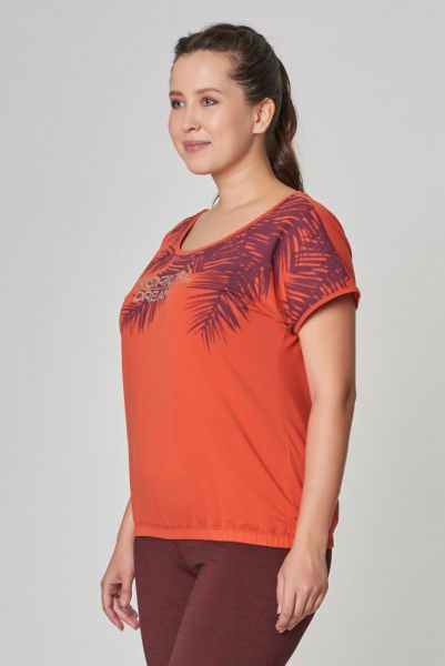 BİLCEE - Büyük Beden Kadın Pamuklu T-Shirt DW-2133