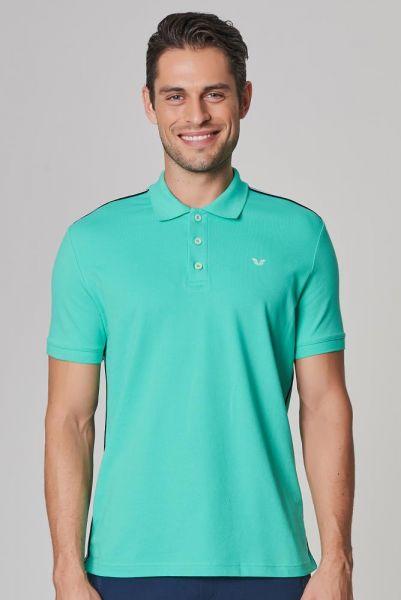 BİLCEE - Bilcee Erkek Polo Yaka Likralı Pamuklu T-Shirt DS-1339