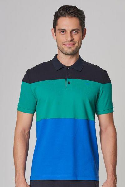BİLCEE - Bilcee Polo Yaka Likralı Pamuklu Erkek T-Shirt DS-1357
