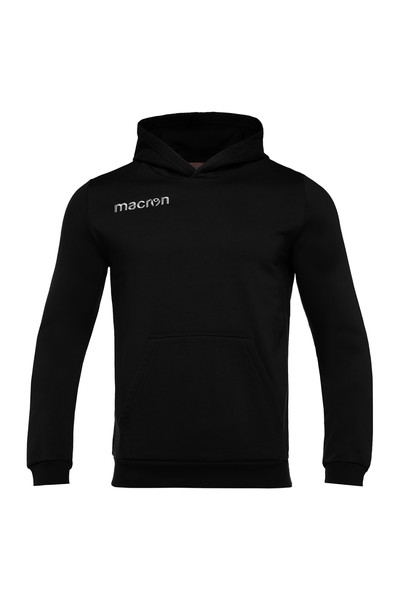 MACRON - Macron Siyah Kapüşonlu Sweatshirt 917209