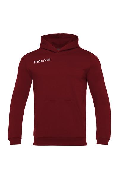MACRON - Macron Bordo Kapüşonlu Sweatshirt 917214