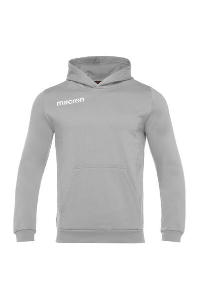 MACRON - Macron Gri Kapüşonlu Sweatshirt 917219