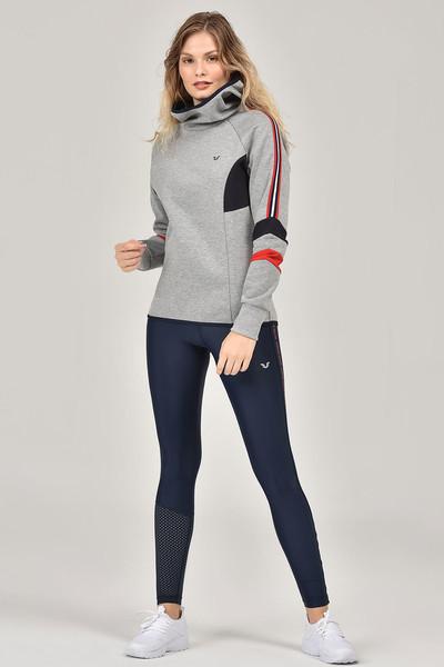 BİLCEE - Bilcee Kapüşonlu Kadın Sweatshirt FW- 1314 (1)