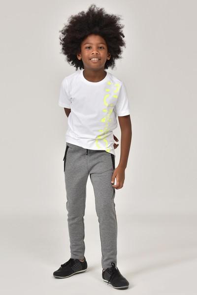 BİLCEE - Bilcee Beyaz Unisex Çocuk T-Shirt FW-1473 (1)