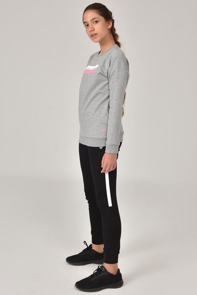 BİLCEE - Bilcee Gri Unisex Çocuk Sweatshirt FW-1482 (1)