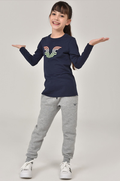 - Bilcee Unisex Çocuk T-Shirt FW-1484 (1)