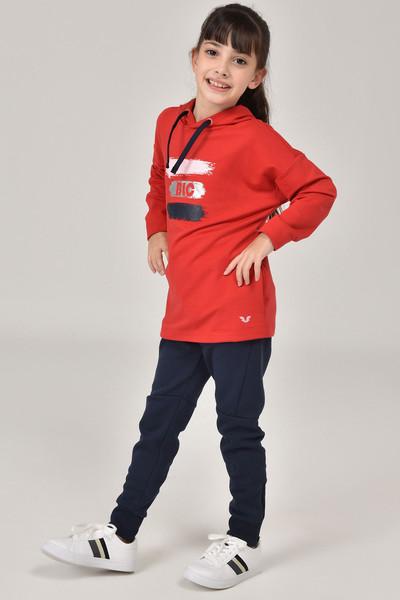 BİLCEE - Bilcee Kırmızı Kız Çocuk Sweatshirt FW - 1485 (1)