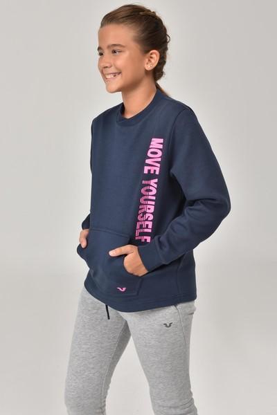 BİLCEE - Bilcee Unisex Çocuk Sweatshirt FW -1490 (1)