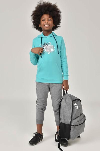 BİLCEE - Bilcee Mavi Unisex Çocuk Sweatshirt FW-1491 (1)