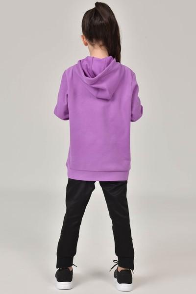 BİLCEE - Bilcee Mor Unisex Çocuk Sweatshirt FW-1491 (1)