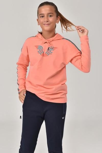 BİLCEE - Bilcee Turuncu Unisex Çocuk Sweatshirt FW-1513 (1)