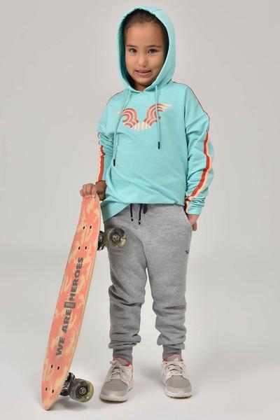 BİLCEE - Bilcee Mavi Unisex Çocuk Sweatshirt FW-1513 (1)