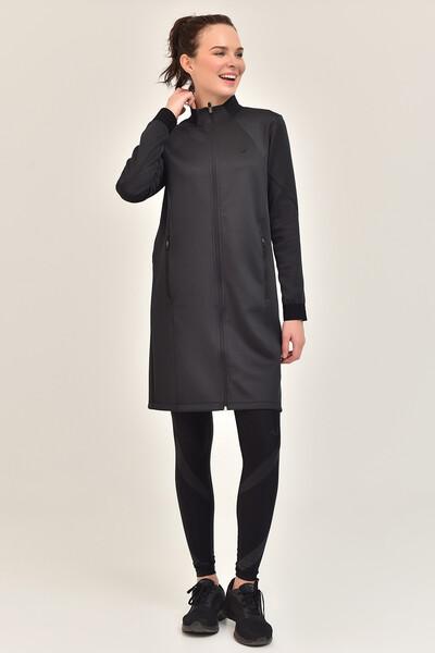 BİLCEE - Bilcee Füme Kadın Uzun Ceket GS-1516