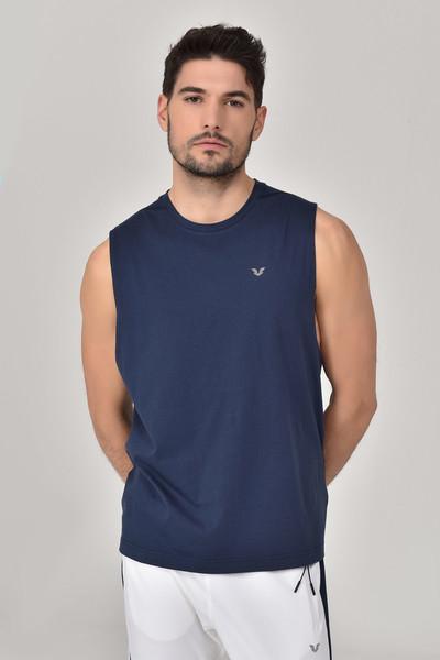 BİLCEE - Bilcee Lacivert Erkek Örme Atlet GS-1622