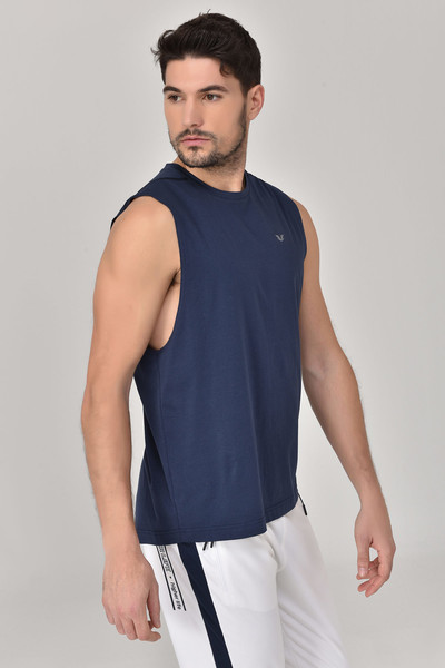 BİLCEE - Bilcee Lacivert Erkek Örme Atlet GS-1622 (1)