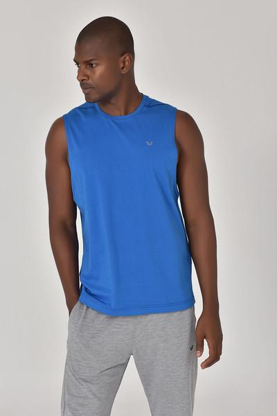 BİLCEE - Bilcee Mavi Erkek Örme Atlet GS-1622