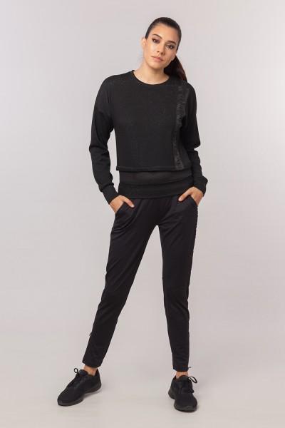 BİLCEE - Bilcee Kadın Simli Sweatshirt EW-3025 (1)