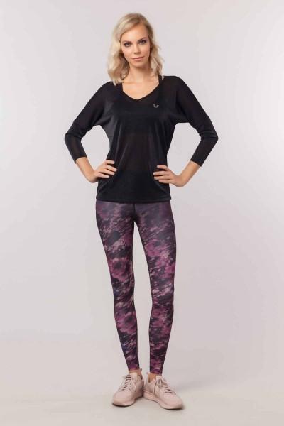 BİLCEE - Bilcee Kadın Simli T-Shirt EW-3026 (1)