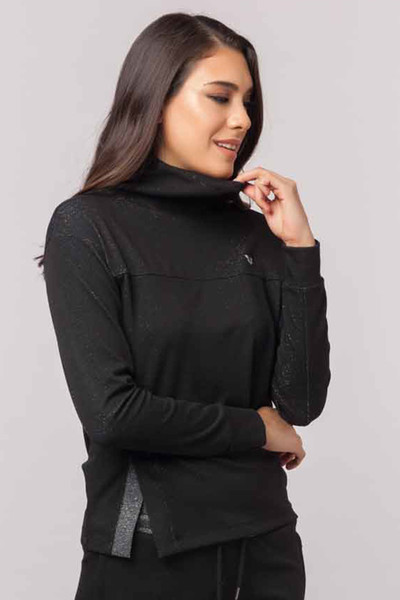 BİLCEE - Bilcee Simli Kadın Sweatshirt EW-3031