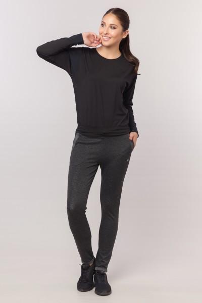 BİLCEE - Bilcee Siyah Kadın Antrenman T-Shirt EW-3032 (1)