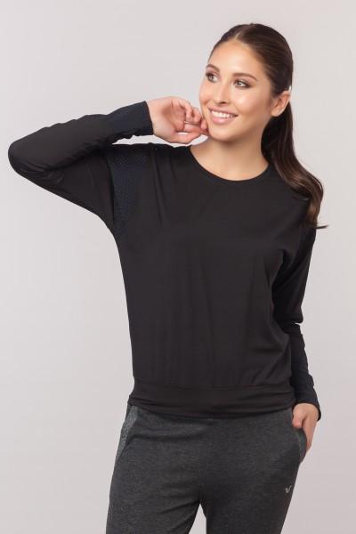 BİLCEE - Bilcee Siyah Kadın Antrenman T-Shirt EW-3032