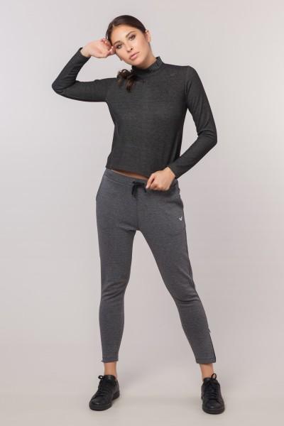 BİLCEE - Bilcee Pamuk/Poly Kadın Sweatshirt EW-3062