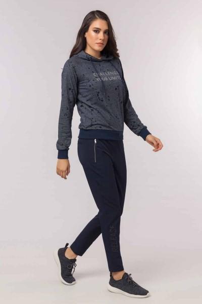 BİLCEE - Bilcee Kadın Sweatshirt EW-3072 (1)
