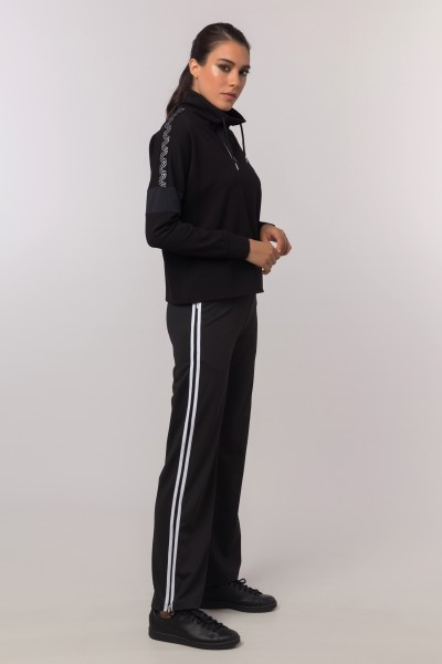 BİLCEE - Bilcee Siyah Kadın Eşofman Altı EW-3076 (1)