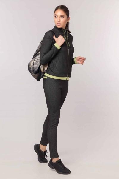 BİLCEE - Bilcee Siyah Kadın Eşofman Takımı EW-3093 (1)