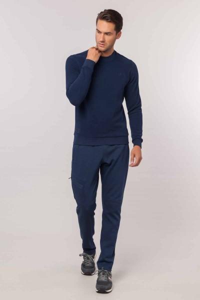 BİLCEE - Bilcee Lacivert Erkek Sweatshirt EW-3302 (1)