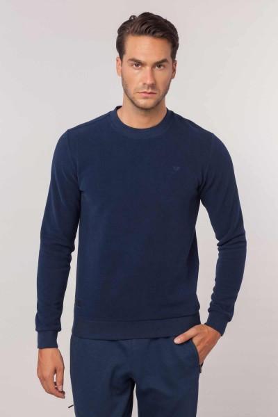BİLCEE - Bilcee Lacivert Erkek Sweatshirt EW-3302
