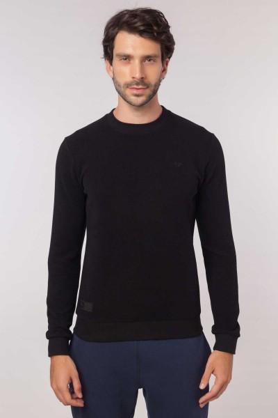 BİLCEE - Bilcee Siyah Erkek Sweatshirt EW-3302