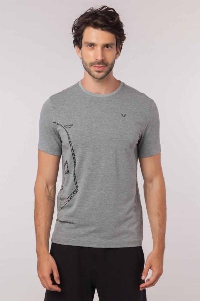 BİLCEE - Bilcee Erkek Pamuklu T-Shirt EW-3335