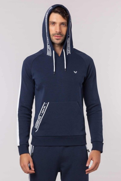 BİLCEE - Bilcee Lacivert Erkek Sweatshirt EW-6105