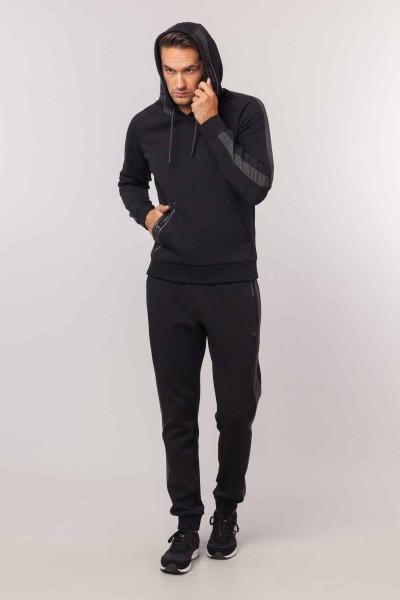 BİLCEE - Bilcee Siyah Erkek Sweatshirt EW-6105 (1)