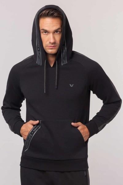 BİLCEE - Bilcee Siyah Erkek Sweatshirt EW-6105