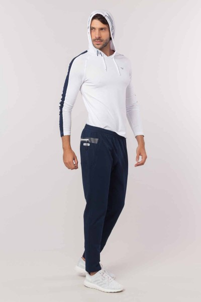 BİLCEE - Bilcee Beyaz Pamuklu Erkek Sweatshirt EW-6130 (1)