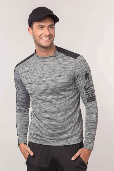 BİLCEE - Bilcee Gri Erkek Sweatshirt EW-6132