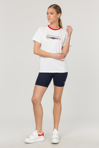 BİLCEE - Bilcee Kadın Baskılı T-Shirt FS-1111 (1)