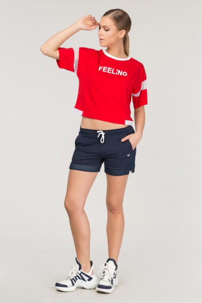 BİLCEE - Bilcee Pamuklu Kadın T-Shirt FS-1118 (1)