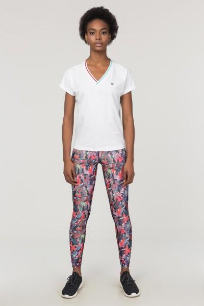 BİLCEE - Bilcee Beyaz Sırt Detaylı Kadın T-Shirt FS-1120 (1)